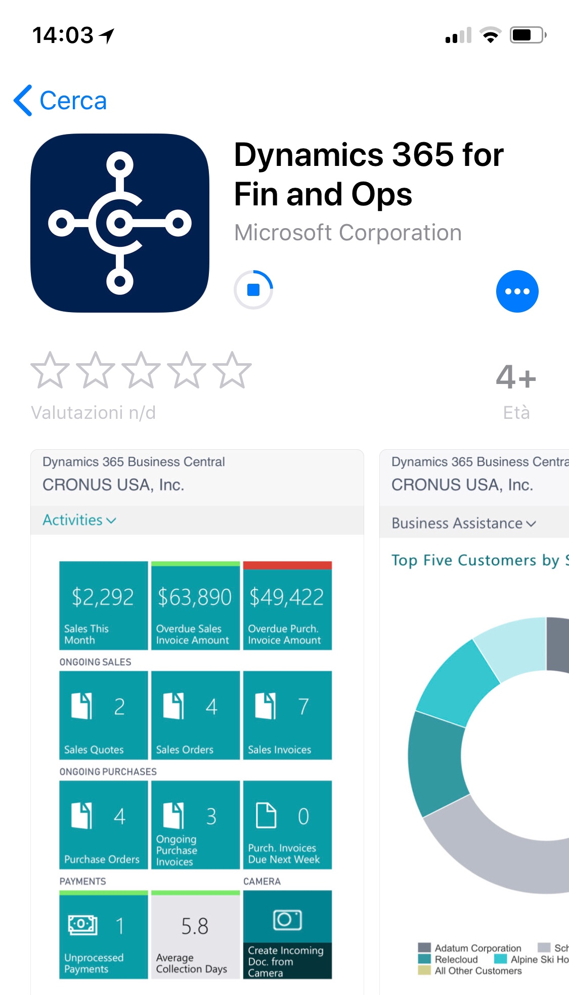 Dynamics 365 Business Central iOS app: few details to fix